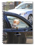 Happy Dog Spiral Notebook