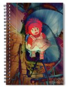 Happy Dolly Spiral Notebook