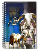 Happy Eid Son Spiral Notebook