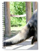 Happy Elephant Spiral Notebook