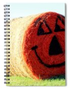Happy Fall Face Spiral Notebook