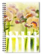 Happy Flower Faces Spiral Notebook
