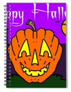 Happy Halloween 2 Spiral Notebook