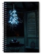 Happy Holiday Lights Spiral Notebook