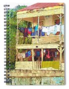 Happy Hour Washday Belize Spiral Notebook