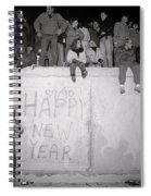 Freedom At The Berlin Wall Spiral Notebook