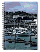 Harbor At Torquay Spiral Notebook