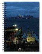 Harbor Morn Spiral Notebook