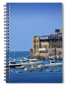 Harbor - North Coast Of Spain Spiral Notebook