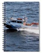 Harbor Police Spiral Notebook