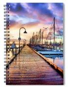 Harbor Town Spiral Notebook
