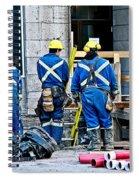 Hard At Work Spiral Notebook