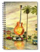 Hard Rock Cafe Las Vegas Spiral Notebook