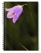 Harebell, Jasper National Park, Alberta Spiral Notebook