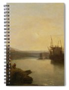 Harlech Castle - From Twgwyn Ferry Spiral Notebook