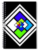 Harlequin Tile Spiral Notebook