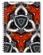 Harley Art 4 Spiral Notebook