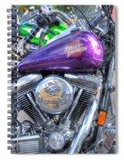 Harley Davidson 3 Spiral Notebook