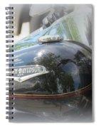 Harley Davidson Emblem Spiral Notebook