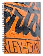 Harley Davidson Logo Spiral Notebook