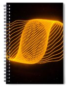 Harmonograph Phase Pattern Spiral Notebook
