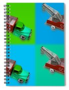 Harmony In Green Spiral Notebook