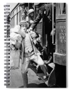 Harold Lloyd (1889-1971) Spiral Notebook