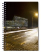 Harpa Center Time Exposure Spiral Notebook