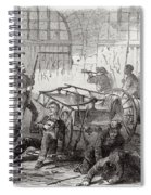 Harpers Ferry Insurrection, 1859 Spiral Notebook
