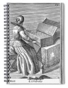 Harpsichord, 1723 Spiral Notebook