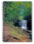Harrison Wright Falls - Summertime Spiral Notebook