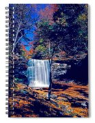 Harrison Wright Falls In Fall Spiral Notebook