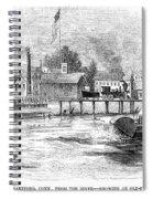 Hartford, 1853 Spiral Notebook