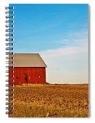 Harvest Is In Spiral Notebook