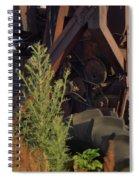 Harvester Working Parts 2 Spiral Notebook