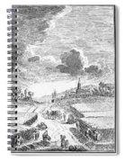 Harvesting, 18th Century Spiral Notebook