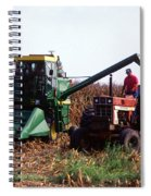 Harvesting Corn Spiral Notebook