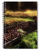 Harvesting The Crop Spiral Notebook