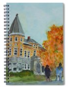 Haskell Free Library In Autumn Spiral Notebook