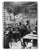 Hat Factory, C1900 Spiral Notebook