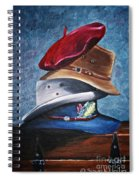 Hat Stack Spiral Notebook