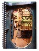 Hatch In Submarine Spiral Notebook