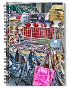 Hats And Handbags Spiral Notebook