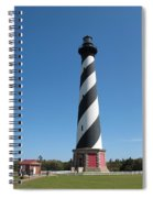Hatteras Lighthouse Spiral Notebook
