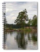 Haukkajarvi Panorama Spiral Notebook
