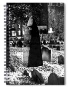 Haunted Cemetery Spiral Notebook