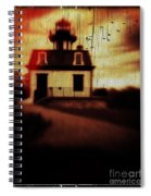 Haunted Lighthouse Spiral Notebook
