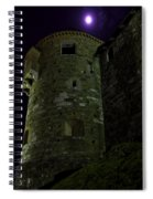 Haunted Tower Spiral Notebook