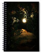 Haunting Moon Spiral Notebook