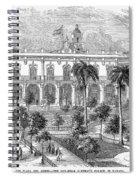 Havana: Plaza De Armas Spiral Notebook